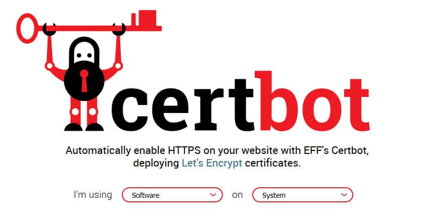 move your website to https using certbot