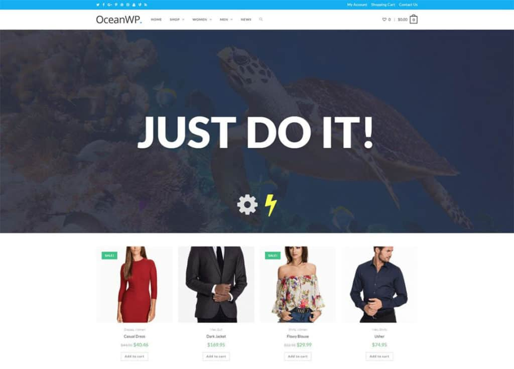 oceanwp one of the best flexible wordpress themes