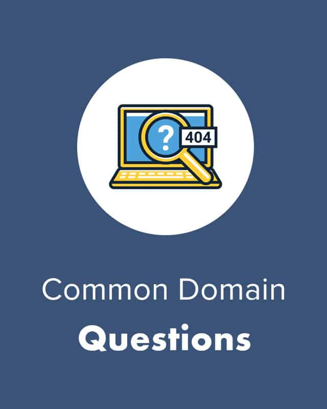 Common Domain Questions