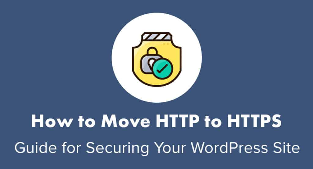How to move http to https on WordPress