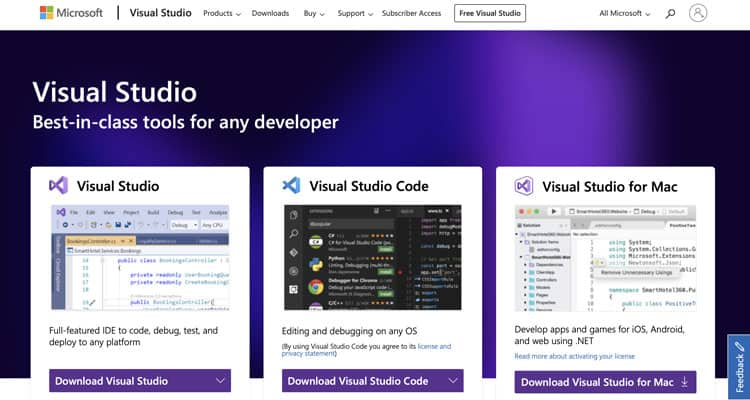 Which is the best IDE for web development? Visual Studio is certainly toward the top of the list.