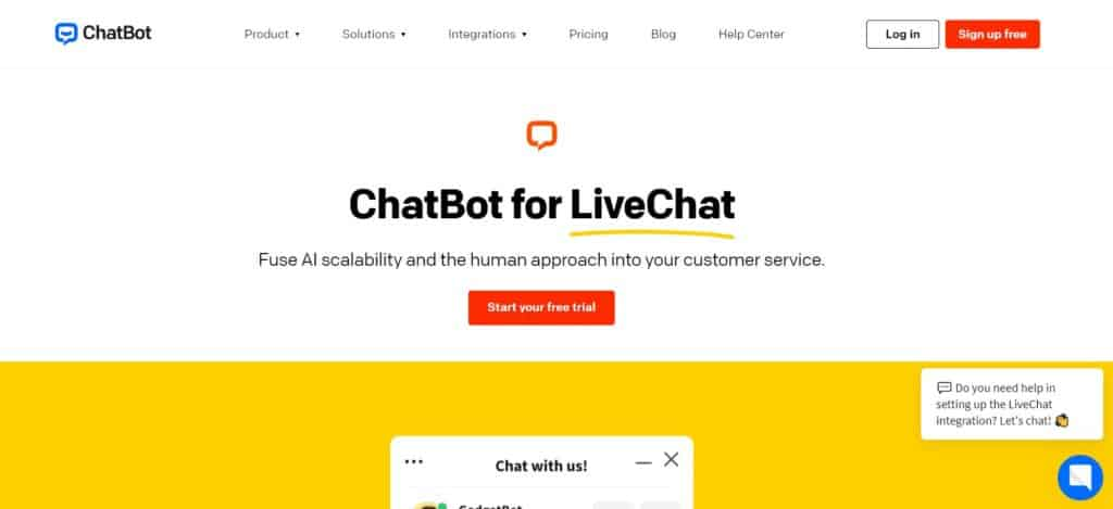 ChatBot for LiveChat